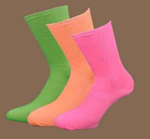 Extra lös resår 3-pack (Neon gul, Neon orange, Neon rosa)