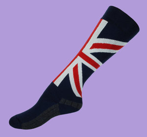 England wool knee socks