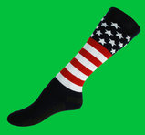 USA wool knee socks