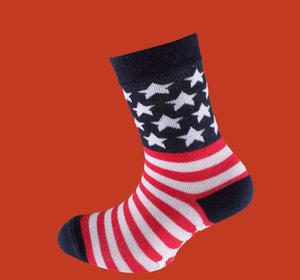 American flag non slip sock