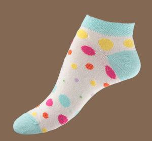 Big dots ankel sock
