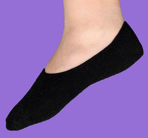 Black ballerina sock
